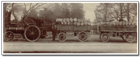 History - Early days of Steam Transport