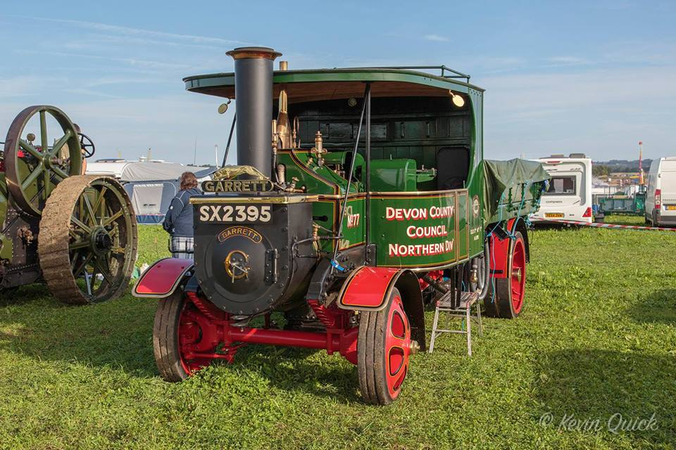 A new visitor to the 2018 Steam Fair
